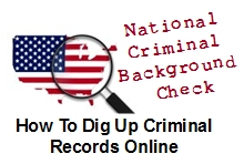 National Criminal Background Check